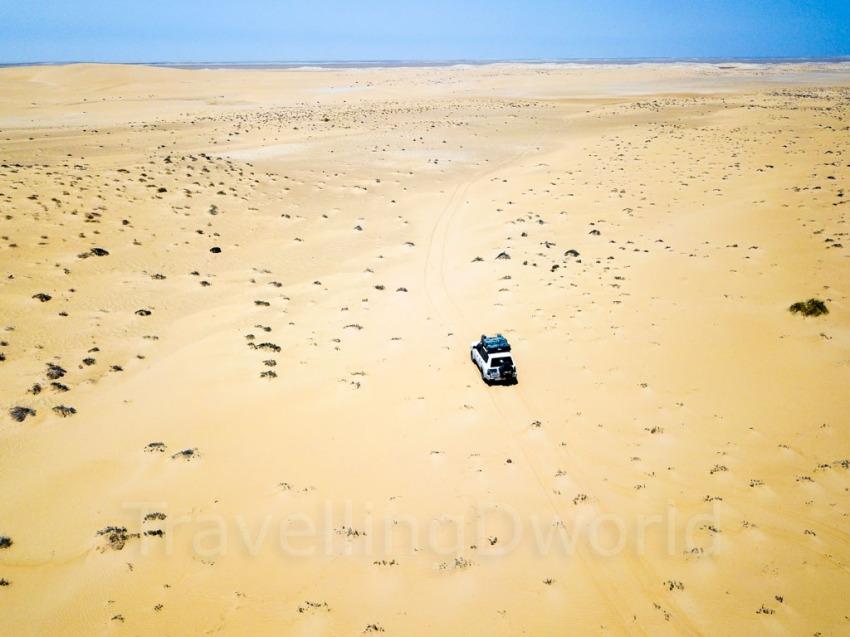 travesía desierto