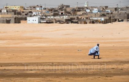 Mauritano en el desierto
