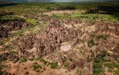 Picos de Sindou a vista de Drone