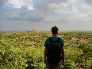 Vistas del Sahel desde Niansongoni