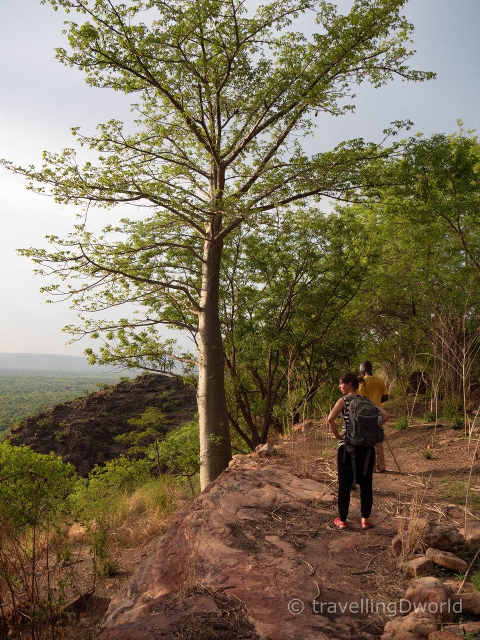 Caminata hasta el poblado troglodita de Niansongoni