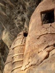 Detalles grabados en los restos trogloditas de Niansongoni