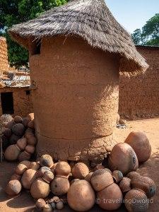 casa tradicional en Burkina Faso