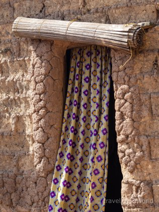 Detalles de una Aldea tradicional en Burkina Faso