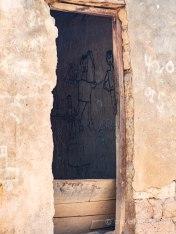 Detalles de una aldea tradicional de Burkina Faso