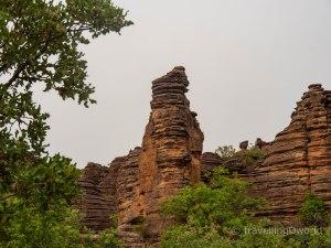 Vista de las Domes de Fabedougou