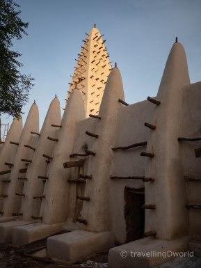 Mezquita estilo Sudanés Bobo Dioulasso