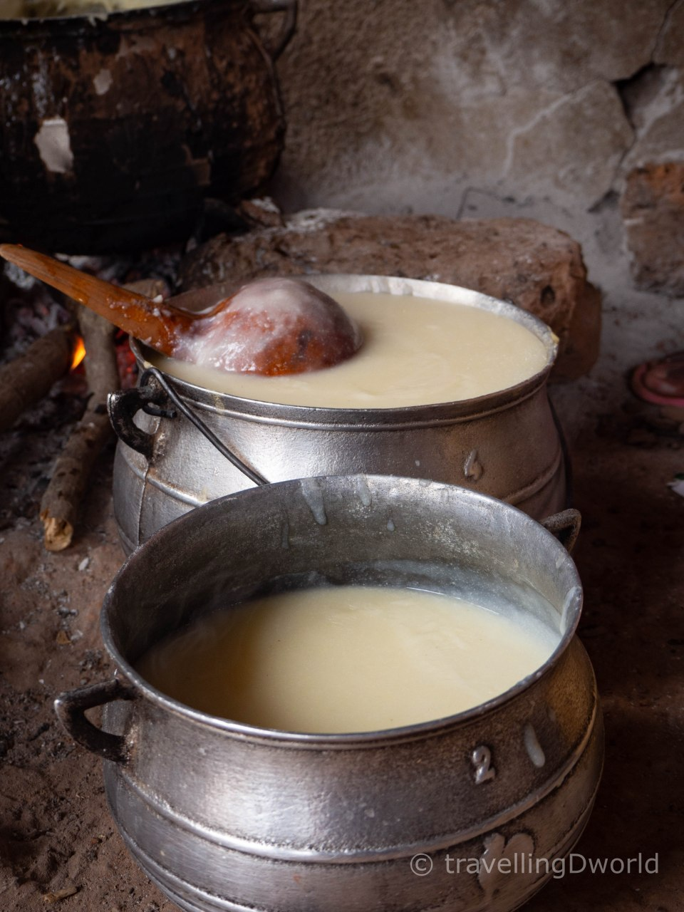Cocina en una aldea de Burkina Faso