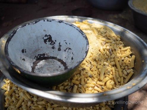 Comida típica en Burkina Faso