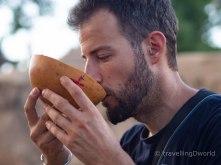 cerveza tradicional de mijo y miel
