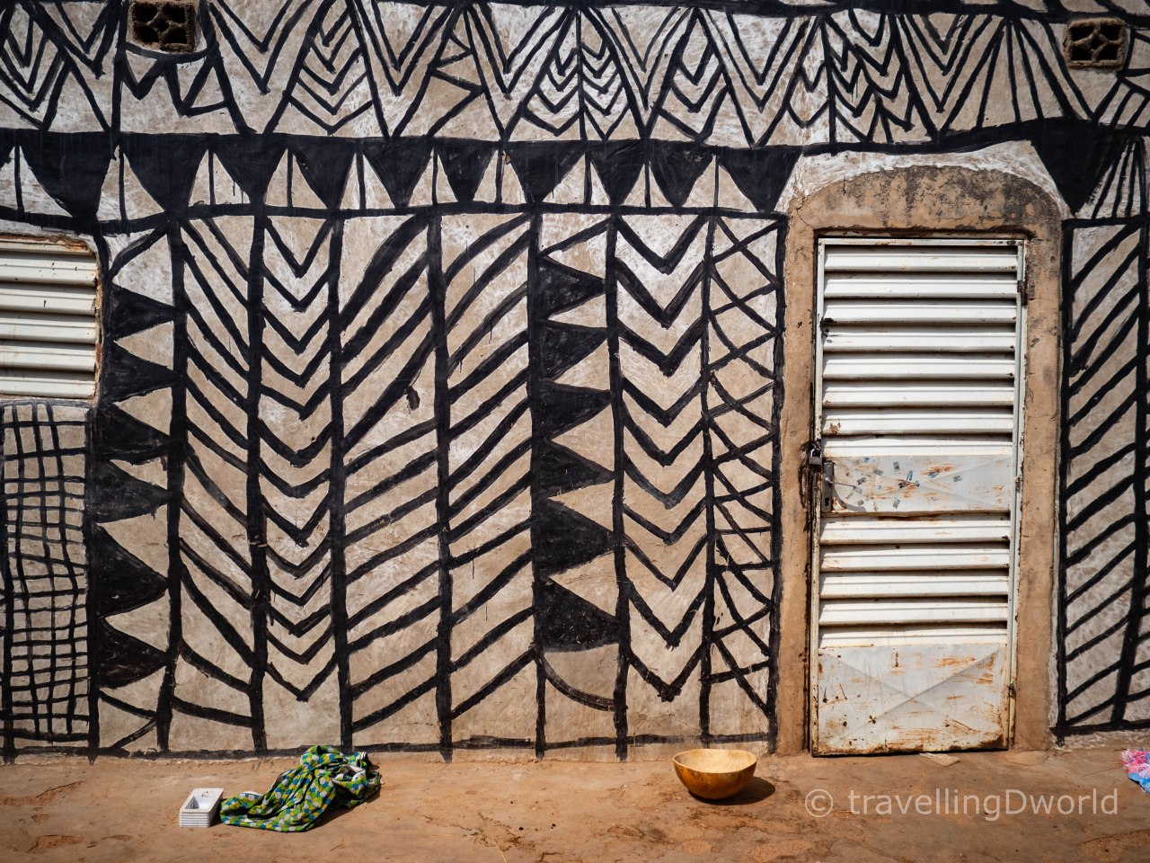 Casas de Tiebelé, Burkina Faso
