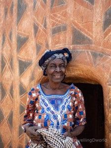 mujer en Tiebelé, Burkina Faso