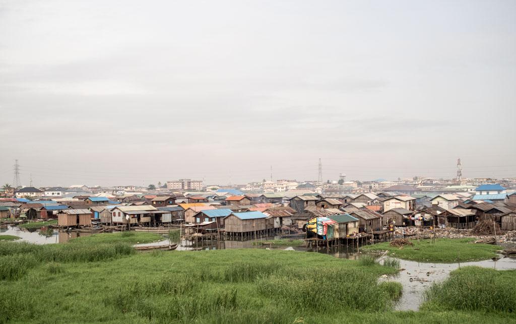 Makoko, chabolas flotantes en Lagos, Nigeria