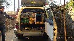 Organizando nuestro Toyota para la Transáfrica
