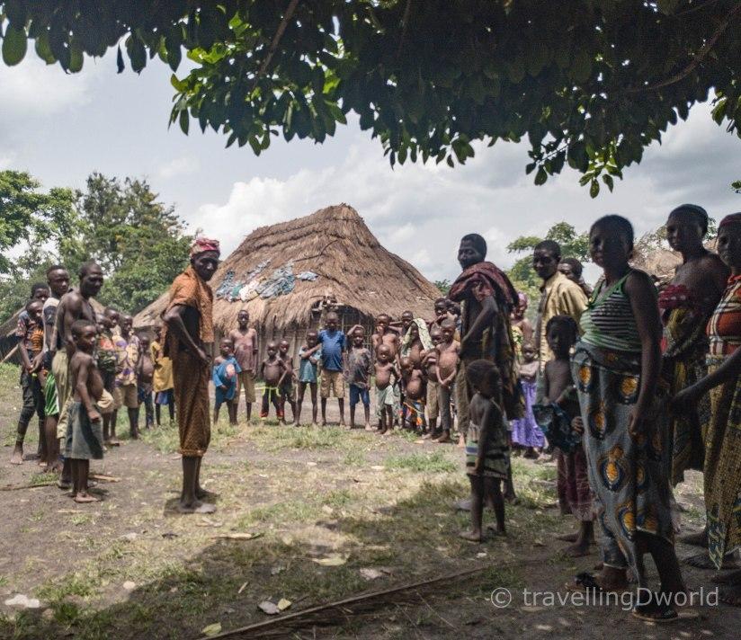 Poblado Holi en Benin
