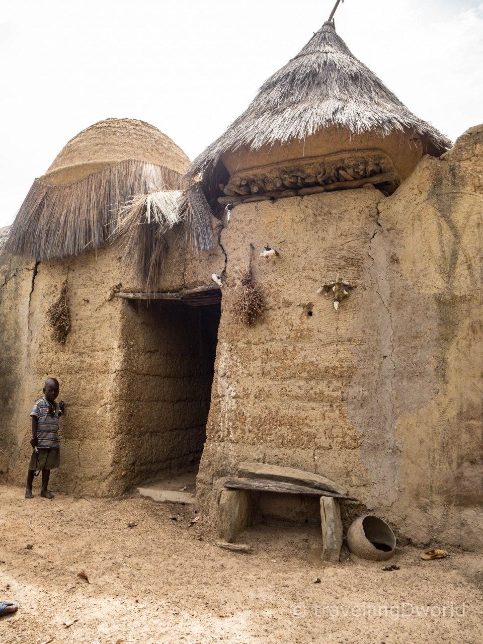 Casa TataSomba alrededor de Natitingún en Benín
