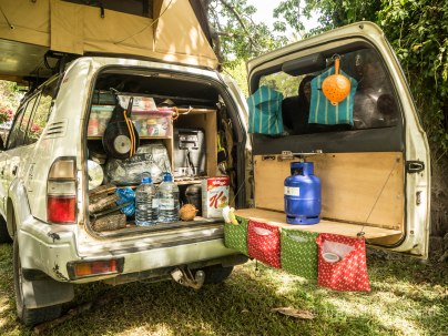 Organización de nuestro Toyota Land Cruiser