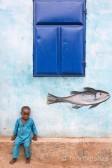 Niño en Benín