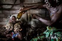 Ceremonia Vudú en la cuna de esta religión, Benín