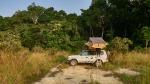 Acampando en la selva de la Lopé, Gabón